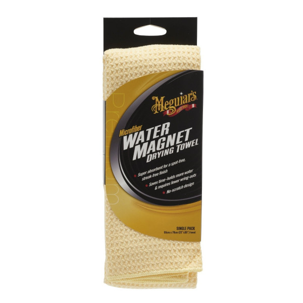 Meguiars Water Magnet Drying Towel Microfaser Trockentuch