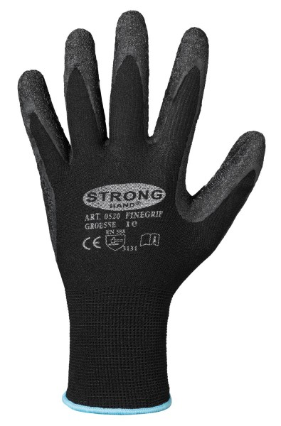 Stronghand Finegrip Nylon Handschuh